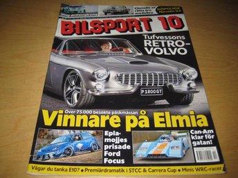 BILSPORT NR 10 2011. VOLVO P 1800 GT ,CHEVELLE -70 ,M.M - Uppsala - BILSPORT NR 10 2011. VOLVO P 1800 GT ,CHEVELLE -70 ,M.M - Uppsala