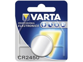 10x1 Varta electronic CR 2450 PU inner box