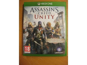 ASSASSINS CREED UNITY - XBOX ONE SPEL - Hörby - ASSASSINS CREED UNITY - XBOX ONE SPEL - Hörby