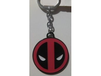 Deadpool Nyckelring 50x44mm ** 1 st **
