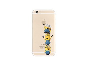 Minion Dumma Mej Iphoneskal Mobilskal Silikon - Iphone 6plus
