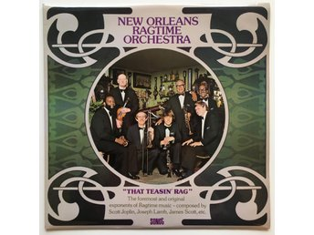 The New Orleans Ragtime Orchestra LP UK 1974