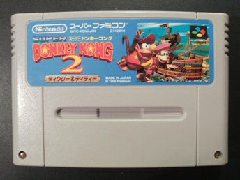 Donkey Kong Country 2: Diddy's Kong Quest till Super Famicom
