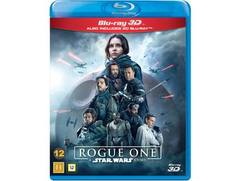 Star Wars Rogue One 3D+Blu-ray - Ny & inplastad!