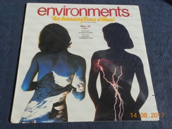 Quad LP ENVIRONMENTS Psychoacoustic Sound Disc 11, USA 1979 - INPLASTAD!