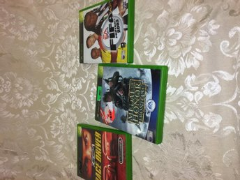 X box spel Fifa 2003, Race driver,Medal of honor frontline