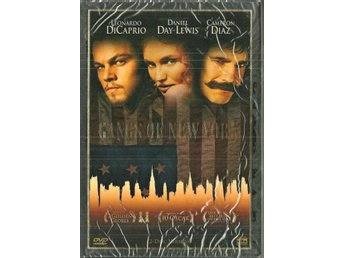 ** GANGS of NEW YORK  , oöppnad  ( 2 disc´s ) **