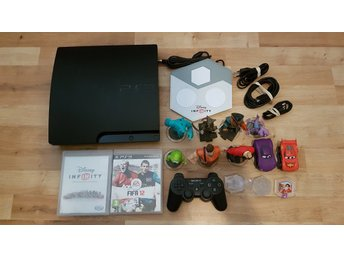 Playstation 3 konsol 320GB + Disney Infinity + Fifa 12 Ps3 basenhet
