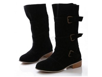 Dam Boots flock footwear quality shoes P20556 Black 36
