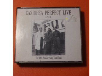 Casiopea Perfect Live - Live II - The 10th Anniversary Tour Final - Japan - 2 Cd