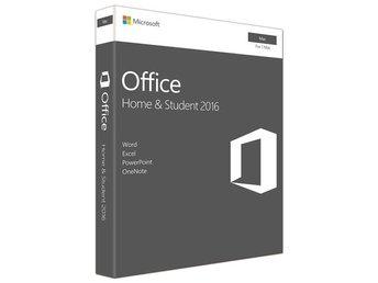 Microsoft Office Mac Home & Student 2016 All Lng EuroZone PK Lic Online DwnLd C2