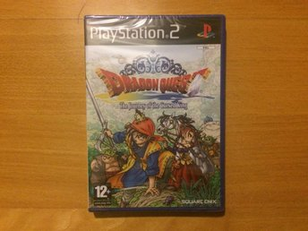 Dragon Quest VIII (8): Journey of the Cursed King - PlayStation 2 - NYTT!