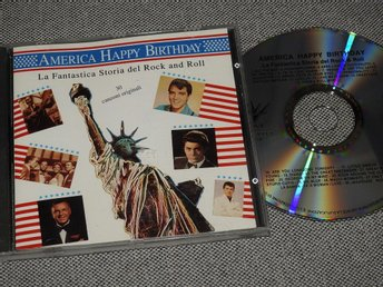 * RARE * America Happy Birthday CD BMCD614204 Rock n roll Elvis Chuck Berry
