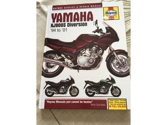 Haynes Reparationshandbok manual Yamaha XJ900S Diversion