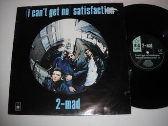 "2-mad ""(I can't get no)satisfaction"" Maxi 12"""