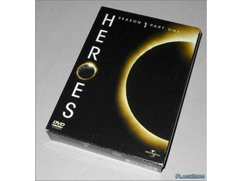 Heroes Säsong 1 del 1 - DVD med svensk text - Helsingborg - Heroes Säsong 1 del 1 - DVD med svensk text - Helsingborg