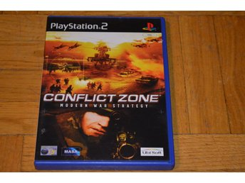 Conflict Zone Modern War Strategy Playstation 2 PS2