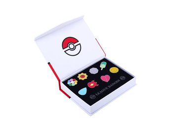 Pokèmon Badges |  1st Generation League Badges / Medaljer