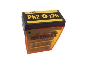 DeWalt 25-pack Ph2 (25mm) bits. - Skärhamn - DeWalt 25-pack Ph2 (25mm) bits. - Skärhamn