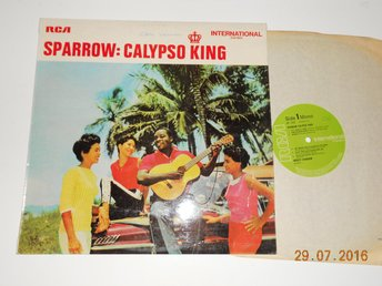 SPARROW - Sings for lovers, Calypso King. LP RCA International, UK 1970