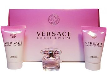 Versace Bright Crystal Mini Travel Size set New