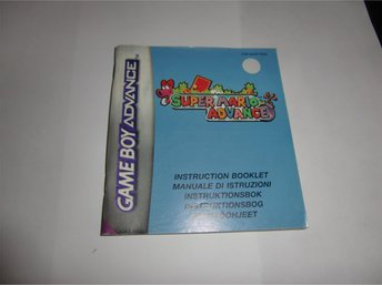 Super Mario advance manual SCN NY
