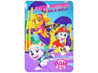 Paw Patrol Is On A Roll Filt Fleecefilt 150 x 100cm