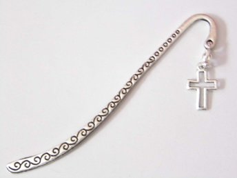 Kristenkor bokmärke / Cross bookmark