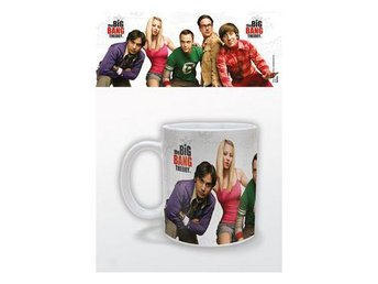Big Bang Theory Mugg Cast
