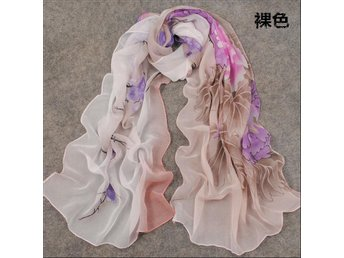 FASHION HOT Soft Scarf Sjal Halsdukar Chiffong Sjal