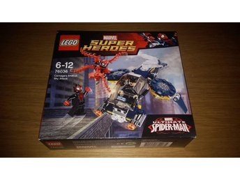 lego marvel super heroes ultimate spider-man (helt nytt oöppnat)