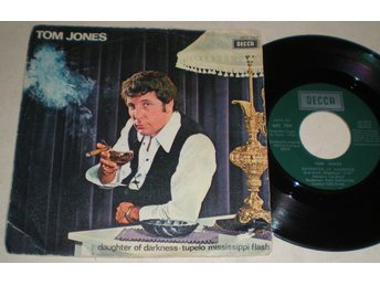 Tom Jones 45/PS Daughter of darkness 1970