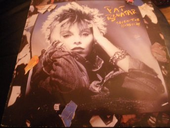 pat benatar seven the hard way lp