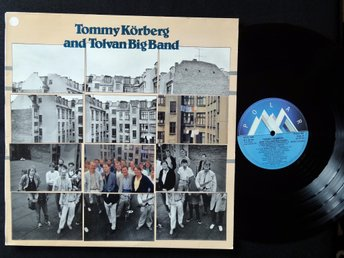TOMMY KÖRBERG & TOLVAN BIG BAND (M-) / Vinyl LP Polar Sweden 1985