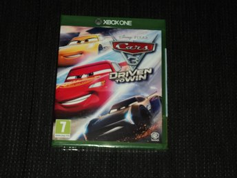 Xbox one Cars 3 Bilar Driven to Win Inplastat!