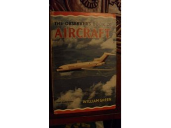 THE OBSERVER'S BOOK OF AIRCRAFT WILLIAM GREEN FULLY ILLUSTRATED 1964 EDITION