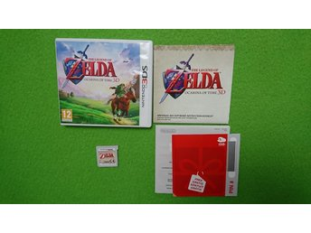 Zelda Ocarina of Time 3D KOMPLETT Nintendo 3DS
