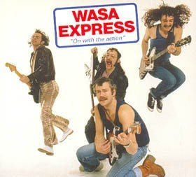 WASA EXPRESS 'On With The Action' remaster CD+bonus