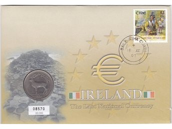 Myntbrev Irland i Serien The Last National Currency