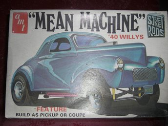 AMT 1940 Willy's Coupe/Pick Up Gasser, skala 1:25