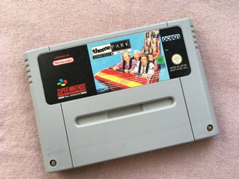 Theme Park (SNES PAL Super Nintendo)