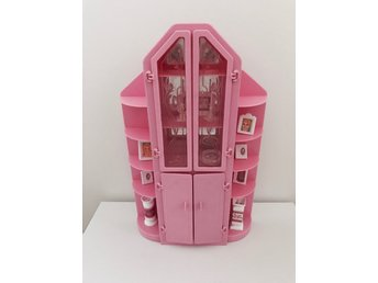 Mattel Barbie Sweet Roses #4772 3 piece wall unit tillbehör 80-tal vintage