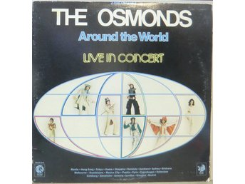 The Osmonds-Around the world/Live in concert / USA D/LP