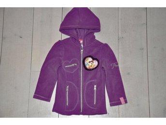 ny Disney 3 år=98 fleece fin  fleece huv jacka princess