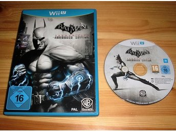 Wii U: Batman Arkham City - Armoured Edition