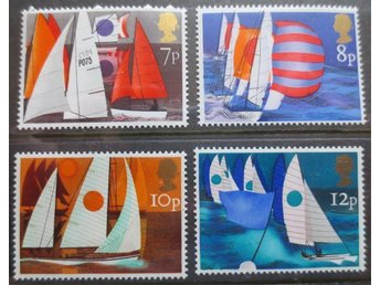 England - Sailing 1975. Postfrisk! Mint condition! - Degerhamn - England - Sailing 1975. Postfrisk! Mint condition! - Degerhamn