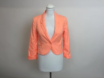 Divided by H&M, Kavaj, Strl: 34, Orange, Skick: Nytt