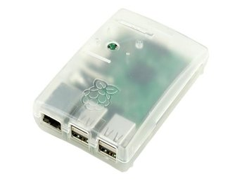 Raspberry Pi Multicomp Clear Case för Model B+/ 2 / 3