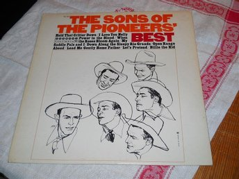 THE SONS OF THE PIONEERS--Best of.    LP