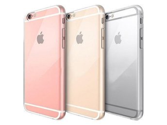 iPhone 6S Plus Genomskinlig Mjuk TPU Skal